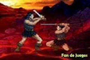 Free Fight with the Barbarian Game