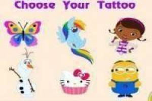 Free Tattoos for girls Game