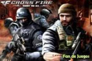 Cross fire: tiros