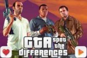 Grand Theft Auto V: Trova le differenze