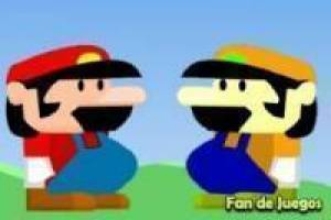 Mario and his brother