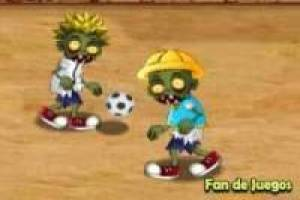 Zombies playing football