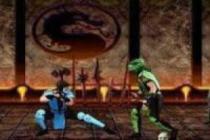 Creating scenes of Mortal Kombat Ninja