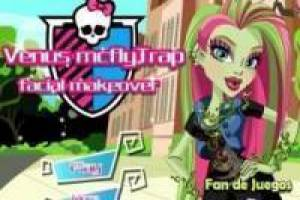 Juego Monster high: maquillar a venus Gratis