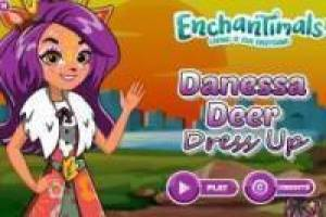 Enchantimals: Dress up Danessa Deer