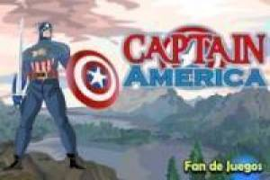 Kostenlos Captain America dress up Spiel