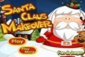 Makeup to santa claus