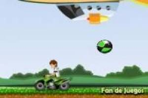 Ben 10 escapes on ATV