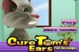 Free Talking Tom: ear problems Game