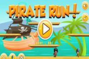 Course de pirate amusante