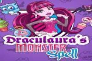 Draculaura Monster High: kouzelný lektvar