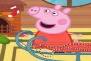 Peppa Pig restores the sled