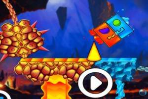 Vuur en water: Geometry Dash