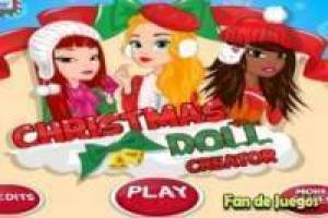 Create Christmas dolls
