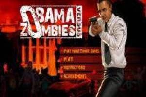 Barack Obama aniquila zombies