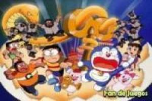 Doraemon and his band: puzzle