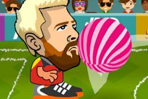 Messi Head Football