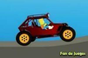 Bart simpson en buggy