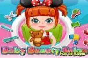 Free Baby on in beauty salon Game
