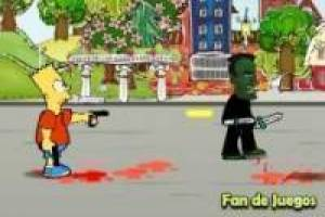 Juego Bart simpson, supervivencias Gratis