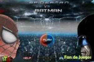 Spiderman vs batman: carreras de motos