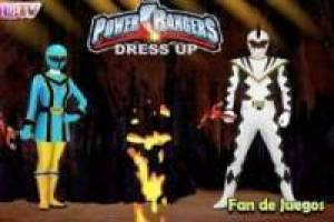 Vestir a los power ranger
