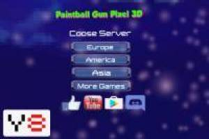 Pistola de Paintball: Pixel 3D