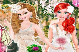 Bella and Ariel: Double boho wedding