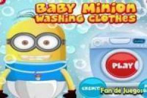 Minion wash baby clothing