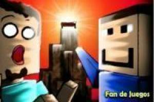 Minecraft: humorous video