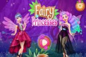 Dress up princesses from fairyland