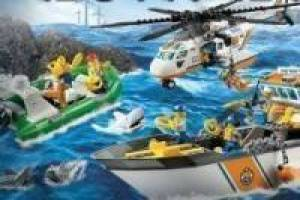Salvamento no mar Lego
