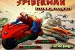 Spiderman: racing at full speed