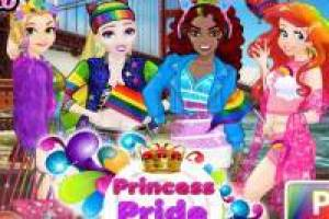 Rapunzel and her friends: Rainbow Parade