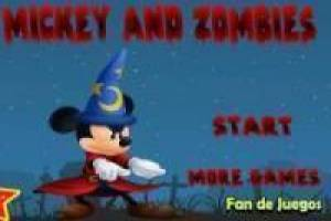 Mickey mouse en zombies