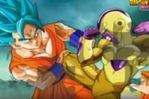 Goku SSJ vs Freezer Gold