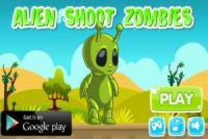 Shoot the alien zombies