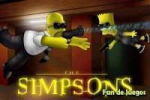 Free The battle of the simpson Game