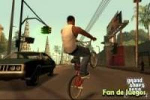 Grand Theft Auto San Andreas bike: Fandejuegos puzzels