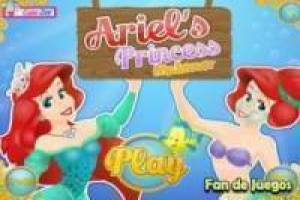 Princezna Ariel make-up