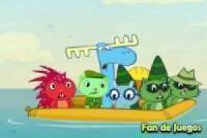 Juego Happy tree friends - happy trails 2 Gratis