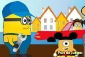 Minion is loodgieter