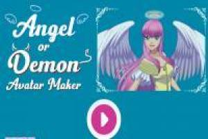 Disfraces de ángel y demonio