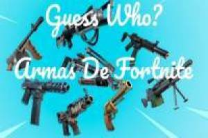 Guess the Fortnite Weapon