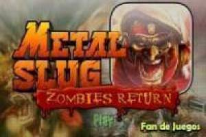 Juego Metal slug vs zombies Gratis