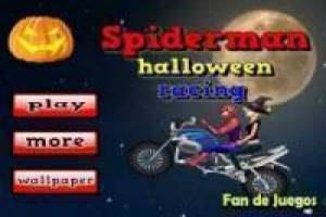 Free Spiderman traveling with witch Game