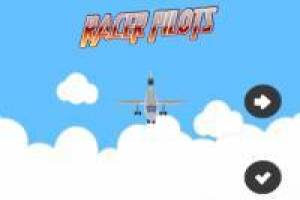 Funny airplane races