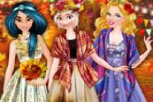Aurora, Elsa et Jasmine: Fall Ball
