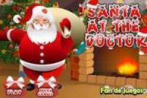 Free Santa claus in hospital Game