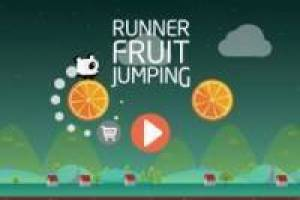 Runner Fruit Jumping